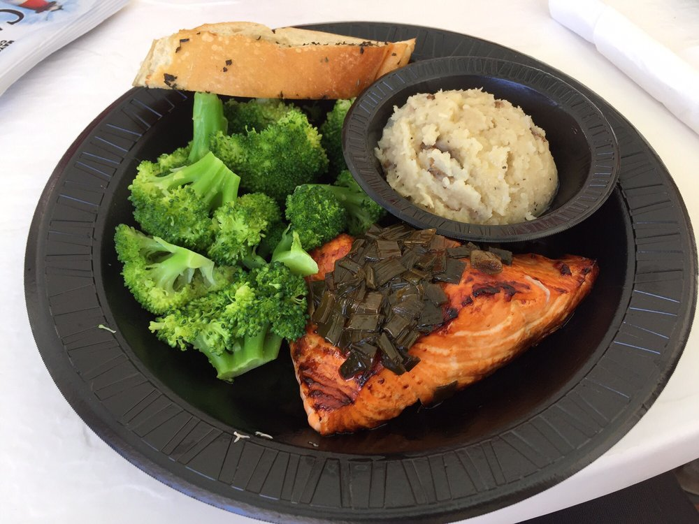 Very Fresh and Delicious Fish Dinner! – Seafood Atlantic