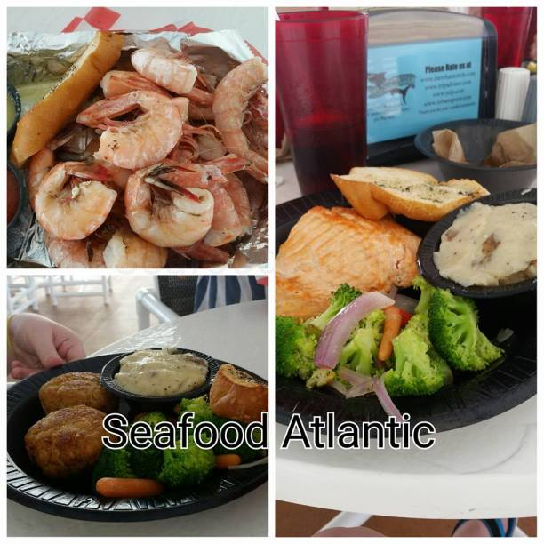 Seafood Atlantic Port Canaveral Florida