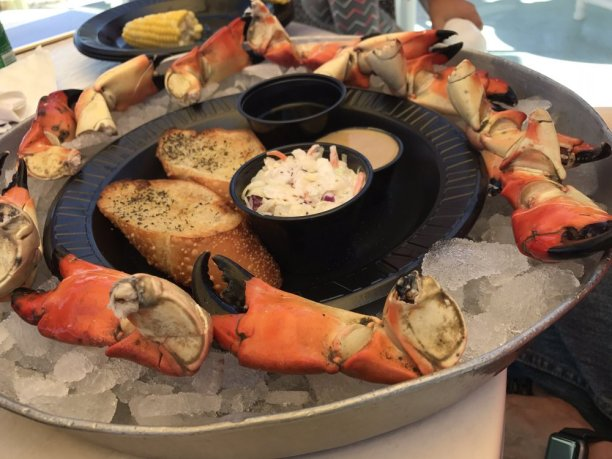 Stone crab claws google image