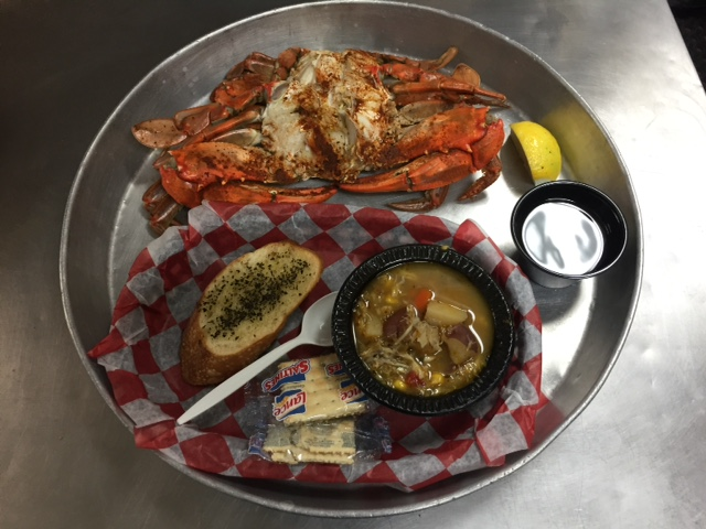 Blue crab seafood atlantic