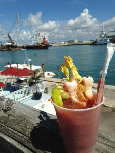 bloody mary Seafood Atlantic