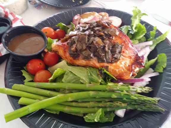 Seafood Atlantic Salmon Salad