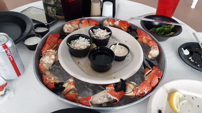 Stone Crab Claws Seafood Atlantic