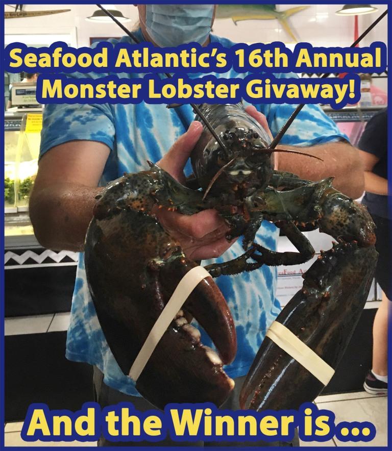 Monster Lobster Winner