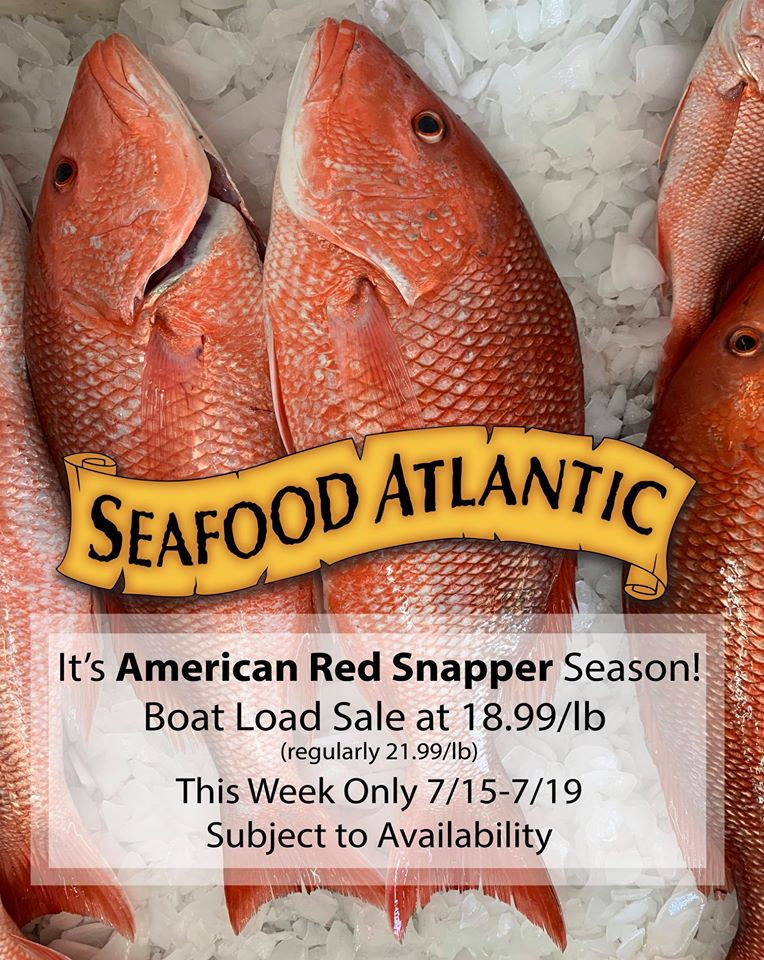 Red Snapper Seafood Atlantic google image